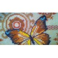 "Beaded purse kit ""Gold Butterfly"""