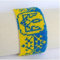 Bracelet bead kits for embroidery