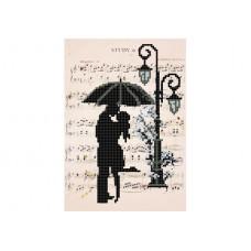"""Romantic rain"" - Bead embroidery pattern"