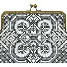 "Beaded purse kit ""Monochrome"""