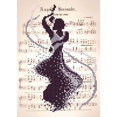 """Romantic Dance"" - Bead embroidery pattern"
