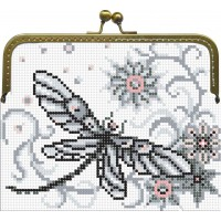 Beaded purse kits for embroidery