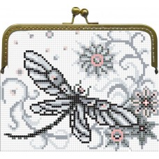 "Beaded purse kit ""Dragonflies"""