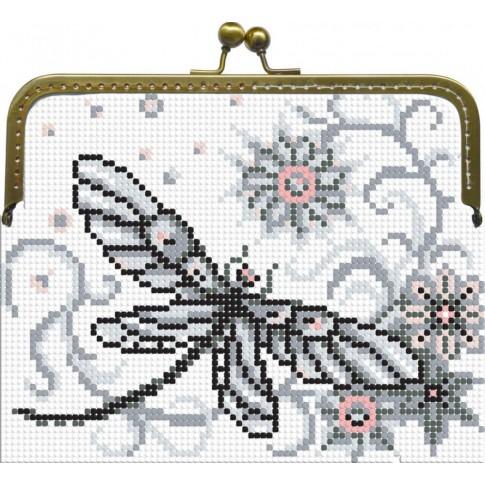 "Beaded purse kit ""Dragonflies"""