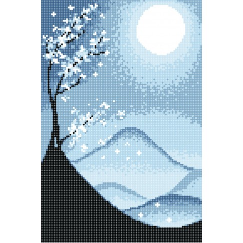 "Bead embroidery pattern ""Seasons. Winter"""