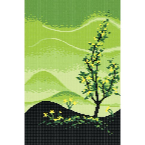 "Bead embroidery pattern ""Seasons. Spring"""