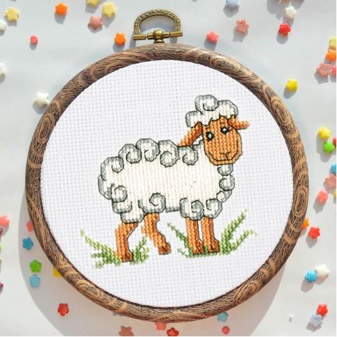 """Cross stitch kit """"Lamb"""""""
