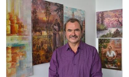 Ukrainian artist and folk art guru Mykhailo Dombrovskyi