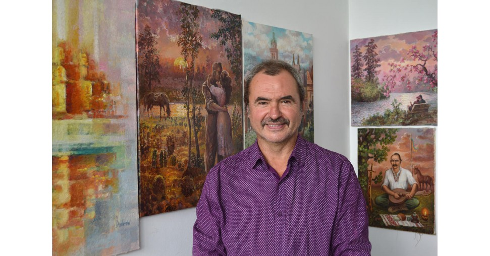 Ukrainian artist and folk art guru Mykhailo Dombrovskyi