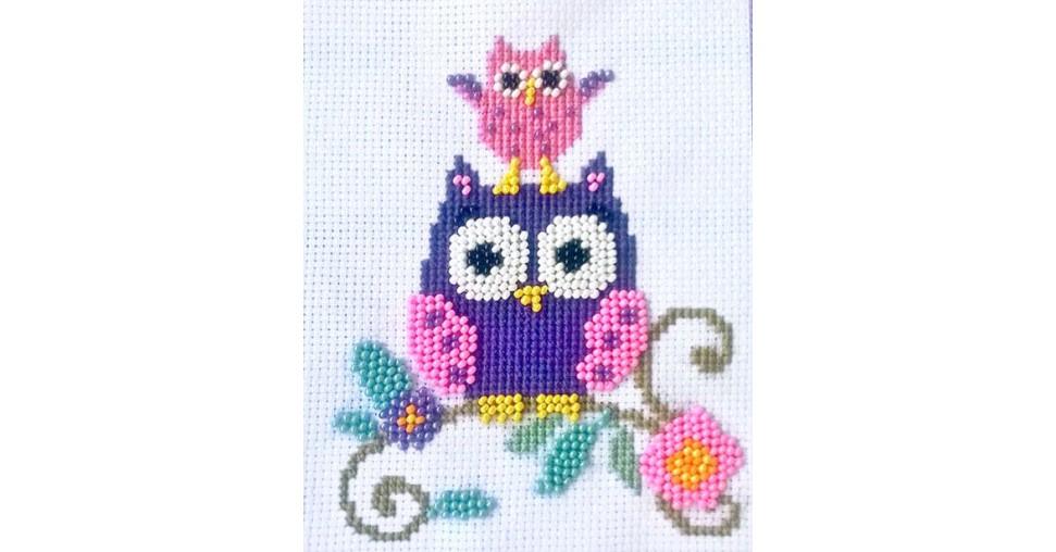 Patterned needlework fabrics