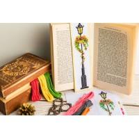"""Lamp"" - Cross stitch bookmark pattern"