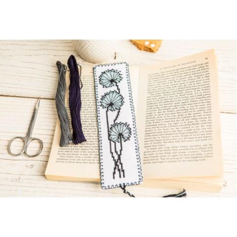 "Cross stitch bookmark kit ""Dandelion"""