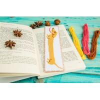 """Dachshund"" - Сross stitch bookmark"