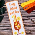 "Cross stitch bookmark kit ""Long Island"""