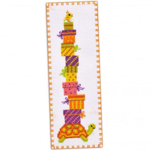 "Cross stitch bookmark kit ""Turtle"""