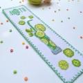 "Cross stitch bookmark kit ""Mojito"""