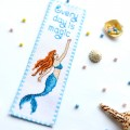 "Cross stitch bookmark kit ""Every day is magic!"""
