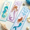 "Cross stitch bookmark kit ""I am a really Mermaid"""