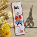 "Cross stitch bookmark kit ""Cossack"""