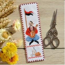 """Cossack"" - Cross stitch bookmark kit"