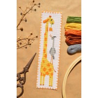 """Giraffe"" - Cross stitch bookmark kit"