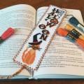 "Cross stitch bookmark kit ""Halloween"""