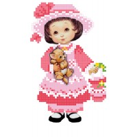 """Little lady"" - Bead embroidery pattern"