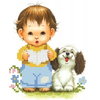 """Little gentleman"" - Bead embroidery pattern"