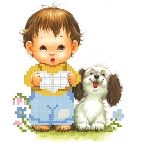 "Bead embroidery pattern ""Little gentleman"""