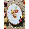 """Bead embroidery pattern """"Mouse"""""""