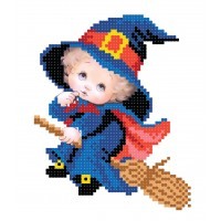 """Little witch"" - Bead embroidery pattern"