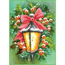 """Christmas lantern"" - Bead embroidery pattern"