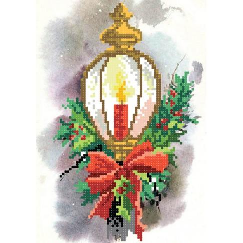 "Bead embroidery pattern ""Lantern"""
