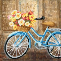 """""""Bicycle ride"""" - Bead embroidery pattern"""