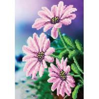 """Purple flowers"" - Bead embroidery pattern"