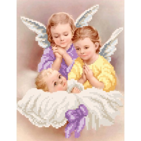 "Bead embroidery kit ""Angels"""