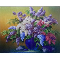 "Bead embroidery kit ""Lilac"""