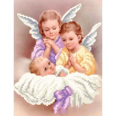 """Little Angels"" - Bead embroidery pattern of icon"