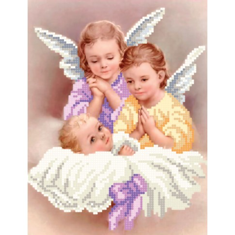 """Bead embroidery pattern of icon """"Little Angels"""""""