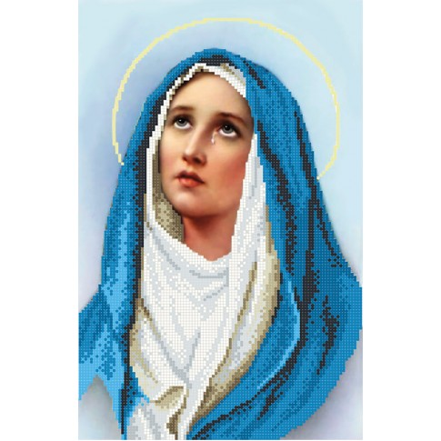 "Bead embroidery pattern ""Mary, mother of Jesus"""