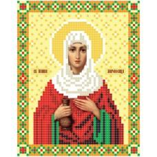 """Saint Joanna"" - Bead embroidery pattern of icon"