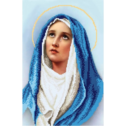 "Bead embroidery kit ""Mary, mother of Jesus"""
