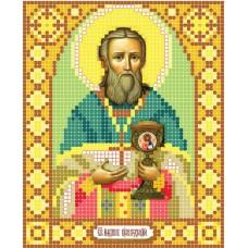 """Saint John of Kronstadt"" - Bead embroidery pattern of icon"