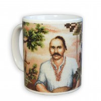 """""""Cossaсk Mamay #StitchForHero"""" - Ceramic Mug"""