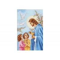 """Holy Eucharist"" - Cross stitch kit"
