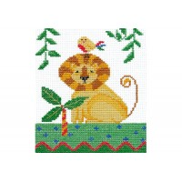 """Africa. Lion"" - Cross stitch kit"