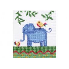 """Africa. Elephant"" - Cross stitch kit"