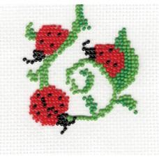 "Bead embroidery kit ""Ladybug"""