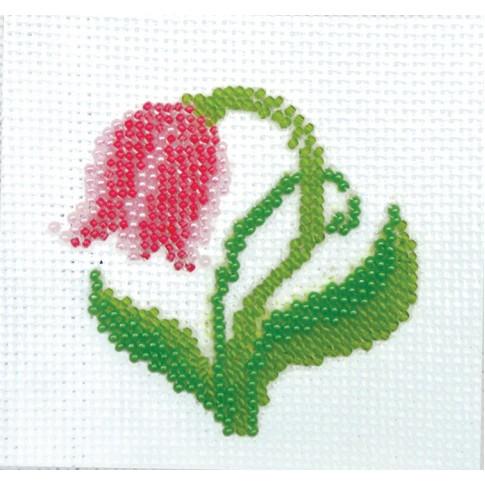 """Bead embroidery kit """"Tulip"""""""