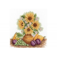 "Cross stitch kit ""Summer still life"""